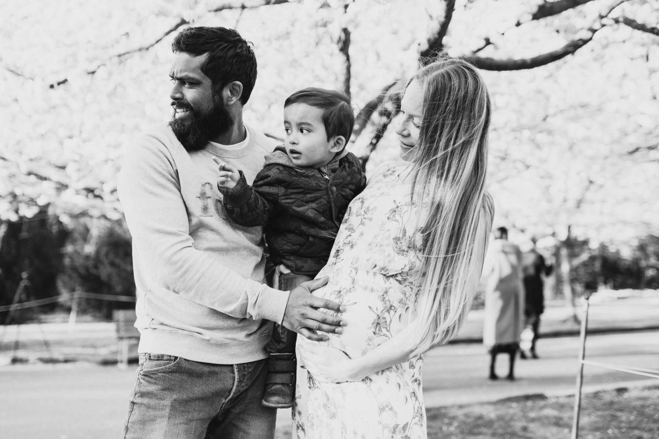 Pregnancy photo session in Copenhagen